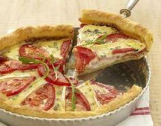 Recette - Tarte gourmande à la tomate et au Bresse Bleu | 750g