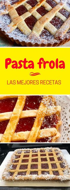 Pasta frola: Delicious recipes You have many to choose from!, Desserts, Your favorite cake, the classic PASTA FROLA, is delicious. Find the best recipes in QUIEROCAKES fruits Best Cinnamon Roll Recipe, Cinnamon Roll Icing, Fancy Desserts, Sweet Desserts, Dessert Recipes, Good Food, Yummy Food, Delicious Recipes, Pan Dulce