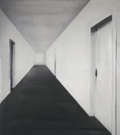 Gerhard Richter, Korridor (Corridor), 1964, 150 cm x 135 cm, Oil on canvas