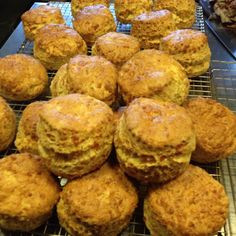 Argyll Hotel, Isle of Iona, Scotland. Freshly baked cheese scones, perfect with a bowl of homemade soup for lunch  http://www.organicholidays.co.uk/at/3219.htm