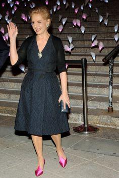 Carolina Herrera at Vanity Fair's Tribeca Film Festival party
