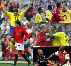 Arsenal vs Manchester United Montage.
