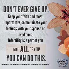 National Infertility Awareness  Week #nationalinfertilityawarenessweek #hope #staystrong #dontgiveup #youcandothis #loveyou #hearttoheart #h2hadoptions