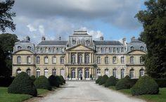 18TH CENTURY, France - Jean-Michel Chevotet (1687-1772): Château de Champlâtreux, 1751-57, Val-d'Oise, Île-de-France
