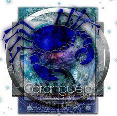 Astrology, Zodiac, Art, Spiritual, Ilustration, Signs, Horoscope, Mandala, mandalas, healing, Planets, Cancer