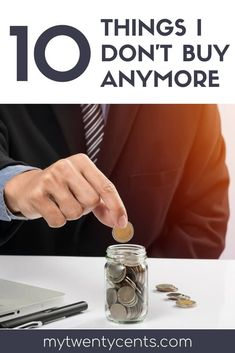 If you are sick of being broke then you need to read this article and stop buying these 10 useless things! I stopped buying these 10 items and now i'm seeing my savings account going up every day! I am saving hundreds of dollars a month just by eliminating these things from my monthly budget! #budget #budgeting #savemoney