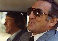 Lino Ventura y Jacques Brel