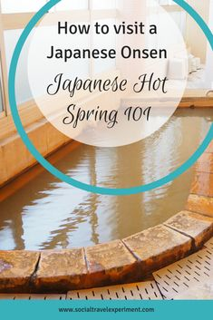 Japanese Onsen Etiquette is one of the most important things to know if you want to take a Bath in Japan. A visit to the Japanese hot springs is more complicated than you might thing and a bit of Onsen 101 might help you remember some rules for Japanese Japan Travel Guide, Asia Travel, Japan Guide, Solo Travel, Japanese Bath House, Japanese Hot Springs, Japan Destinations, Travel Advice, Places
