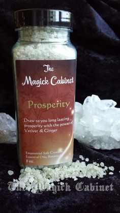 Hey, I found this really awesome Etsy listing at https://www.etsy.com/listing/197589903/prosperity-salt-crystals-money-drawing