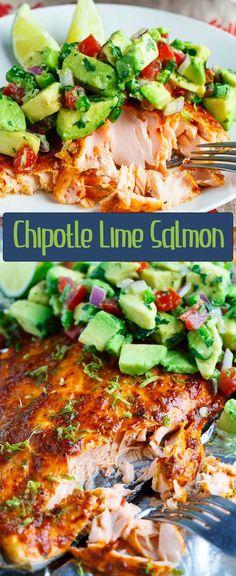 lime salmon chipotle lime salmon more salsa salmon tasty salmon lime ...