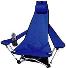 Without doubt the greatest, most comfortable camping chair EVER. Mine sadly expired in a rather horrific fashion a few years ago, but it would definitely be in my dream festival survival pack...!!! RIP