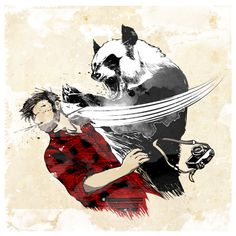 Have you ever been bitchslapped by a panda?