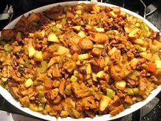 Cajun Delights: Caramelized Onion-Mushroom Stuffing