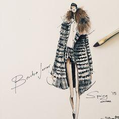 Dream coat from #BouchraJarrar spring '15 couture