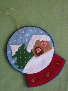 The post Schneekugel ! appeared first on WMN Diy. The post Schneekugel ! The post Schneekugel ! appear appeared first on WMN Diy. Felt Christmas Decorations, Christmas Ornaments To Make, Christmas Sewing, Noel Christmas, Felt Ornaments, Christmas Projects, Handmade Christmas, Holiday Crafts, Christmas Felt Crafts