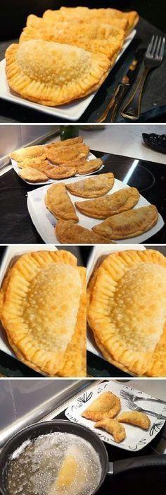 Estabas buscando la MASA DE EMPANADILLA perfecta pues la has encontrado no te pierdas la receta! � By recetas de casa LM. #masa #empanadilla #perfecta #empanadas #freir #autentica #postres #cheesecake #cakes #pan #panfrances #panettone #panes #pantone #pan #recetas #recipe #casero #torta #tartas #pastel #nestlecocina #bizcocho #bizcochuelo #tasty #cocina #chocolate Si te gusta dinos HOLA y dale a Me Gusta MIREN... Tapas, Mexican Food Recipes, Dessert Recipes, Boricua Recipes, Venezuelan Food, Puerto Rico Food, Salty Foods, Tortilla, Breakfast Recipes