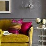 kadife koltuk ornekleri oturma odasi salon mobilya renk secimi koltuk takimlari arasinda uyum sari