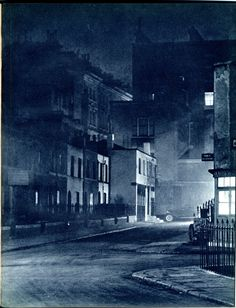 Cul-de-sac - Pictures from London Night – John Morrison and Harold Burkedin 1934