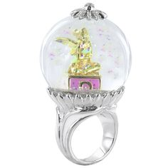 Tinkerbell Snow Globe Ring on http://www.treasurebox.co.uk/jewellery-c1/rings-c21/disney-couture-tinkerbell-snow-globe-ring-p10501