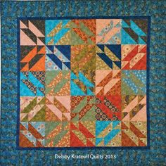 Free Quilt Pattern: The Gretchen Quilt