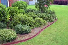 Black Ecoborder Recycled Landscape Edging Being Used In 400 x 300
