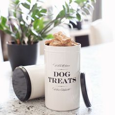 The Bon Chien dog treat tin- for the dog that's French at heart! #frenchie #pet #HarryBarker #luxury