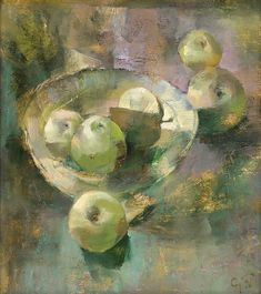 Still Life with apples: by Andrey Aranyshev