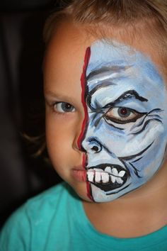 Tutorial Included!!!  Facepainting ideas!  http://www.isavea2z.com/2012/09/19/halloween-face-painting/