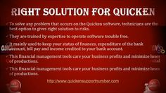 #Quicken_Customer_Service offers the quick solution for any issue based on the #Quicken_Accounting_Software.