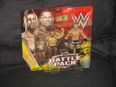 WWE NXT Enzo Amore & Big Cass Mattel Battle Pack Series 40 Figure 2 pk-NIB VHTF  #Mattel