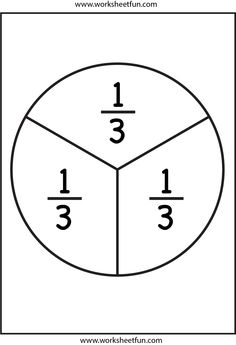 Fraction Circles - 11 Worksheets -  1/2,1/3,1/4,1/5,1/6,1/7,1/8,1/9,1/10,1/11,1/12-halves,thirds,forths,fifths,sixths,sevenths,eighths,ninths,tenths,elevenths,twelfths