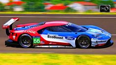 VIDEO: 2016 Ford GT LM GTE Pro (Le Mans Grand Touring Endurance) HD