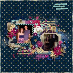 Template: Two Tiny Turtles and Crystal Livesay - Happy Together Kit: Libby Pritchett - And Back Again
