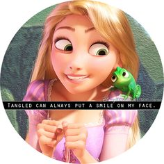 """""""Tangled can always put a smile on my face."""""""