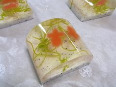 Japanese sweet Namagashi ,goldfish light refreshment on the summer.