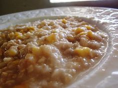 Chef Tess Bakeresse: Homemade Gourmet Instant Oatmeal Packets.....this looks like the most amazing oatmeal!
