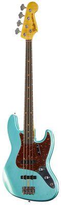 Thomann Custom Shop: Fender 62 Jazz Bass Relic TGM, custom shop team built.