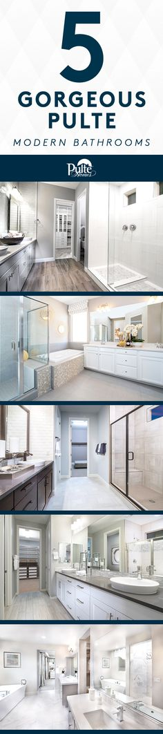 1000 images about masterful bathrooms on pinterest for Pictures of master bathrooms in new homes