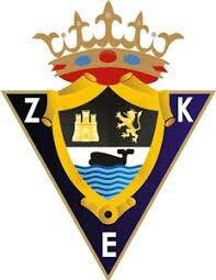 Zarautz K.E. Football Mexicano, Team Player, Ferrari Logo, Club, Crests, Football Team, Creative Art, Badge, Branding Design