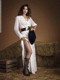 Irina Shayk for Xti Footwear Ad Campaign (Fall-Winter 2013) photo shoot