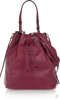 BALENCIAGA Leather bucket bag