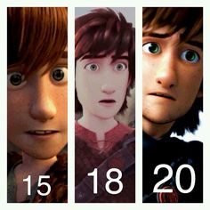 Wishing my favorite HTTYD Viking and fictional crush a HAPPY BIRTHDAY!!!!! ❤❤❤❤  (Credits to whoever made this)