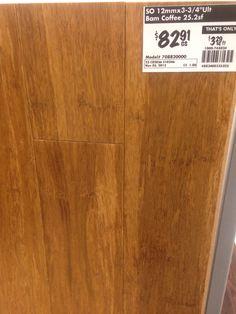 Home Depot Bamboo