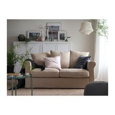 IKEA offers everything from living room furniture to mattresses and bedroom furniture so that you can design your life at home. Check out our furniture and home furnishings! Sectional Sofa, Couch, Ikea Bank, Deep Seat Cushions, Ikea Family, Gray Sofa, Large Sofa, Living Room Sofa, Home Decor