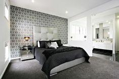 Motif wallpaper dinding untuk kamar tidur cantik