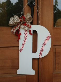 Baseball door hanger for my friend Kellie P!!