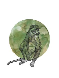 Allison Kunath - Geometric Animals