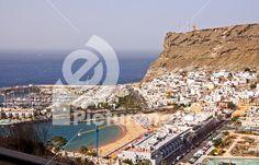 Puerto de Mogan resort on island of Gran Canaria