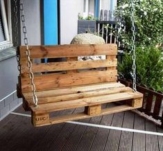 Pallet garden / porch swing - 20 do-it-yourself pallet ideas for your . Pallet garden / porch swing - 20 DIY pallet ideas for your home 99 pal . Pallet Ideas, Wooden Pallet Projects, Wooden Pallets, Wooden Diy, Diy Projects, Pallet Wood, Project Ideas, Diy Wood, Garden Projects