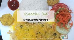 The Ecuadorian encocado de pescado, fish with coconut sauce is one of the tastiest traditional dishes that you find in the Coastal region of the country Green Bean Salads, Green Bean Recipes, Green Beans, Goat Cheese Recipes, Goat Cheese Salad, Coconut Sauce, Borscht, Ecuadorian Recipes, Smoked Pork